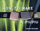 image of How to make a piupiu book cover
