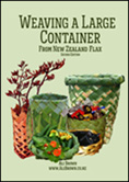 image of Weaving large container book cover